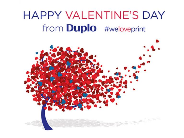 How we created our DUPLO Valentine's card