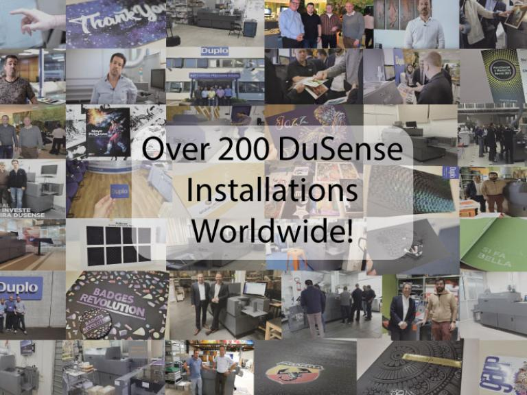 Over 200 DuSense Installations Worldwide!
