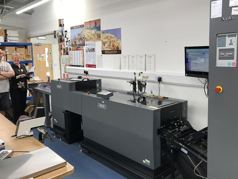Duplo Booklet Maker helps to drive lean manufacturing