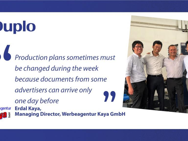 Duplo's Automated Collation solution enabled Kaya to improve efficiency and be competitive