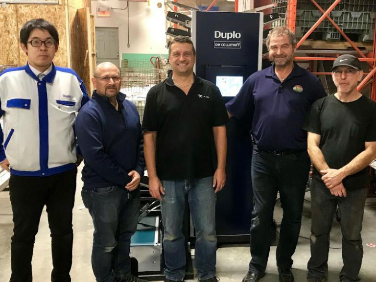 Duplos DM Collator helps Publidistribution Tougas reduce its workforce
