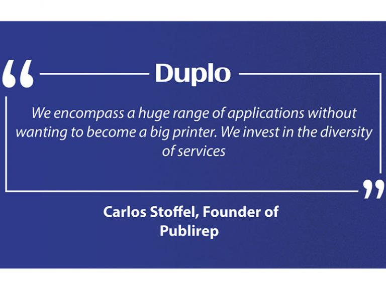 Portugal's First: Publirep invests in the Duplo DuSense