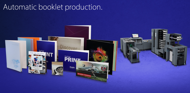 Automatic booklet production - iSaddle