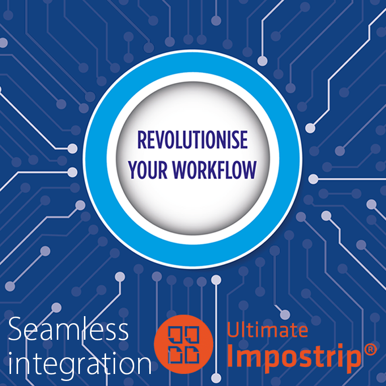 Seamless integration with Ultimate Impostrip software